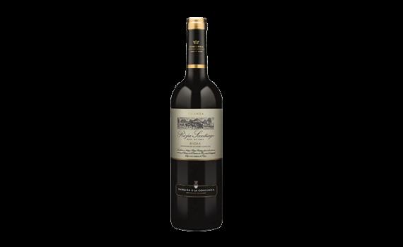 Vino Tinto Rioja Santiago Crianza